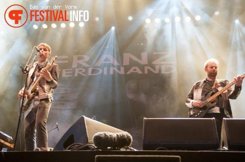 Franz Ferdinand op Best Kept Secret 2014 - dag 2 foto