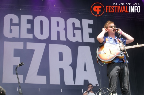 Foto George Ezra op Best Kept Secret 2014 - dag 3