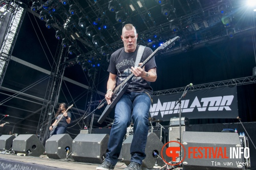 Foto Annihilator op Graspop Metal Meeting 2014 dag 1