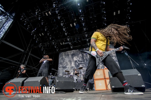 Sepultura op Graspop Metal Meeting 2014 dag 1 foto