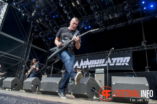 Annihilator op Graspop Metal Meeting 2014 dag 1 foto