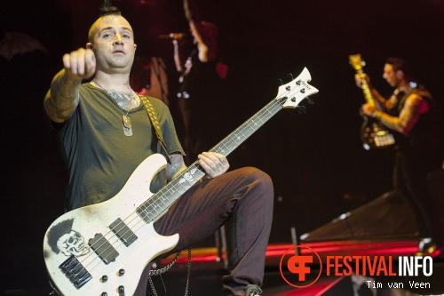 Foto Avenged Sevenfold op Graspop Metal Meeting 2014 dag 1
