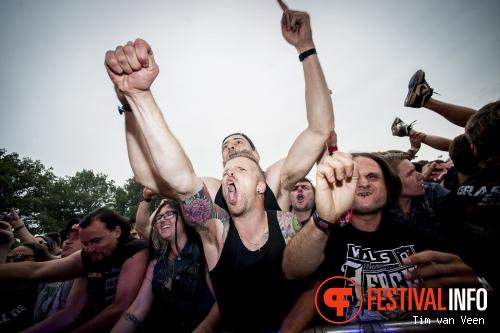 Walls Of Jericho op Graspop Metal Meeting 2014 dag 2 foto