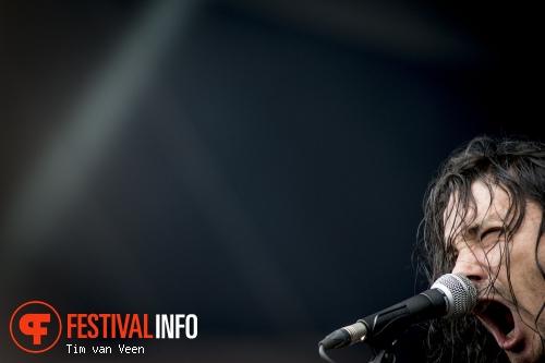 Gojira op Graspop Metal Meeting 2014 dag 2 foto