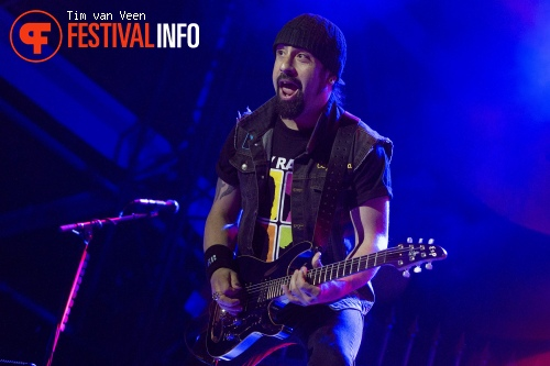 Foto Volbeat op Graspop Metal Meeting 2014 dag 2