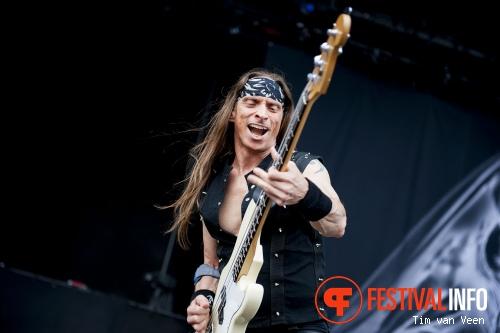 Gamma Ray op Graspop Metal Meeting 2014 dag 2 foto