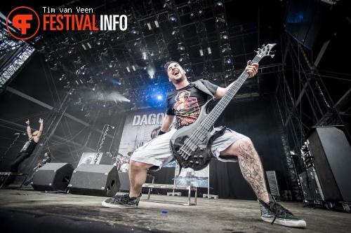 Dagoba op Graspop Metal Meeting 2014 dag 2 foto