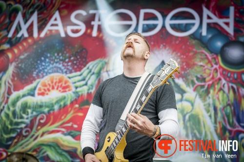 Mastodon op Graspop Metal Meeting 2014 dag 2 foto