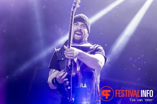 Volbeat op Graspop Metal Meeting 2014 dag 2 foto
