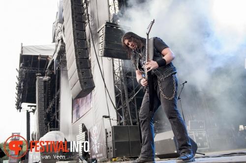 Trivium op Graspop Metal Meeting 2014 dag 2 foto