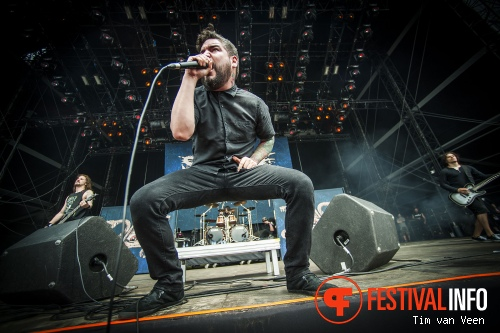 Suicide Silence op Graspop Metal Meeting 2014 dag 3 foto