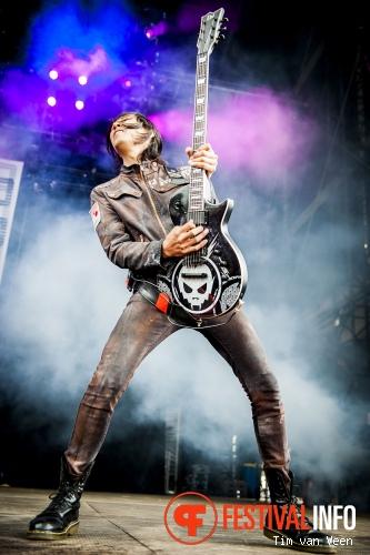 Powerman 5000 op Graspop Metal Meeting 2014 dag 3 foto
