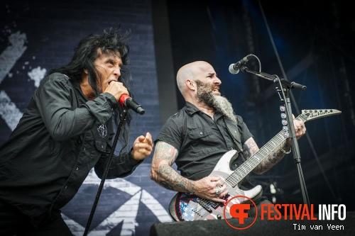 Anthrax op Graspop Metal Meeting 2014 dag 3 foto