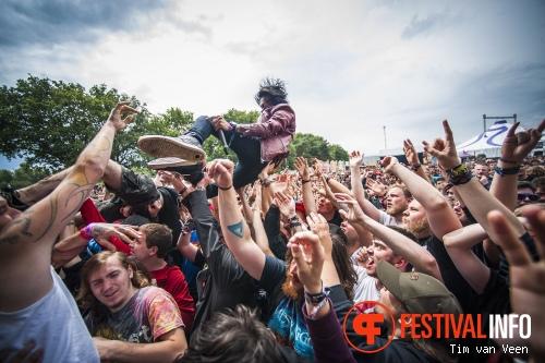 Crossfaith op Graspop Metal Meeting 2014 dag 3 foto