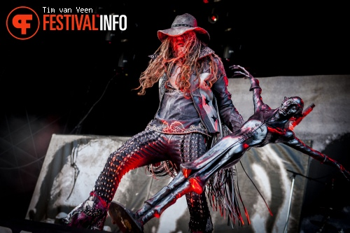 Foto Rob Zombie op Graspop Metal Meeting 2014 dag 3