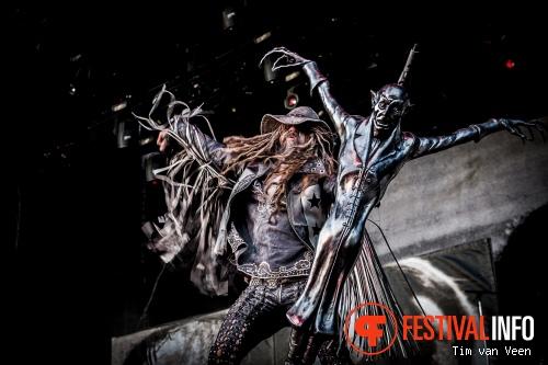 Rob Zombie op Graspop Metal Meeting 2014 dag 3 foto