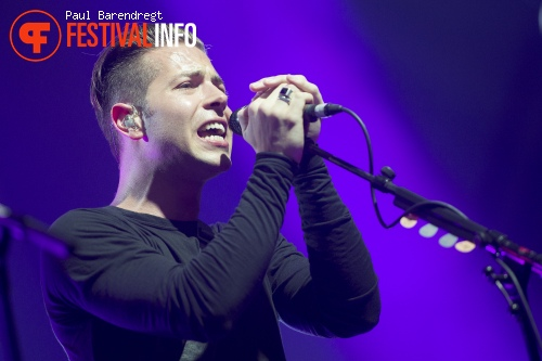 Foto The Naked and Famous op Rock Werchter 2014 - dag 2
