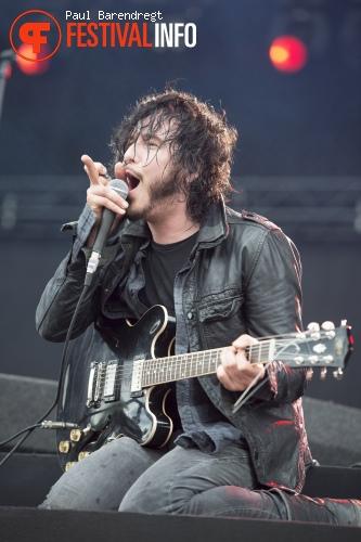 Reignwolf op Rock Werchter 2014 - dag 4 foto