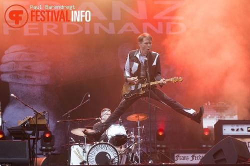 Franz Ferdinand op Rock Werchter 2014 - dag 4 foto