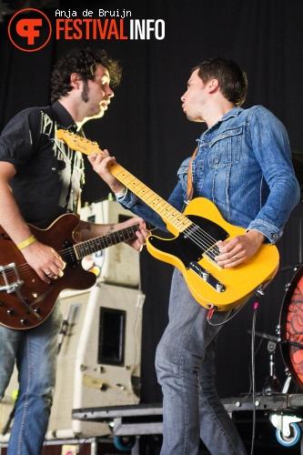 Foto The Sore Losers op Metropolis Festival 2014