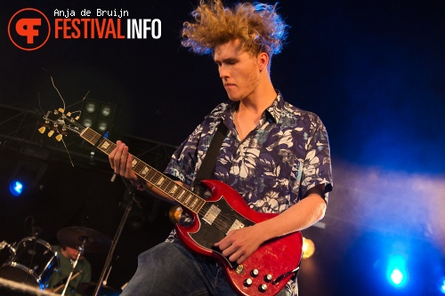 Foto The Afterveins op Metropolis Festival 2014