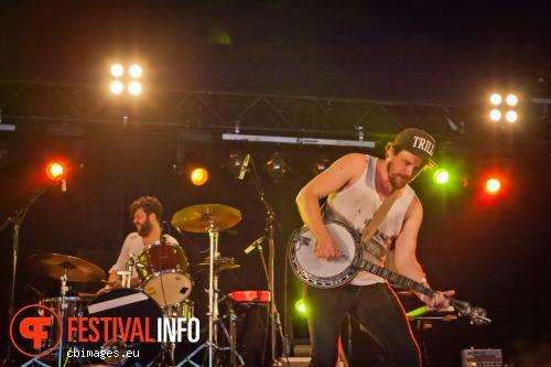 Foto Bear's Den op Metropolis Festival 2014