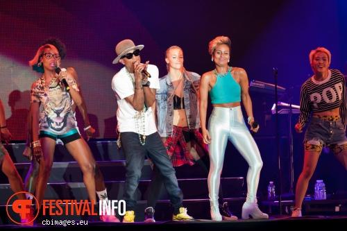 Pharrell Williams op North Sea Jazz 2014 - dag 1 foto