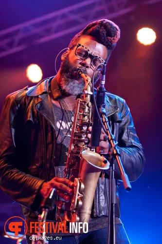 Robert Glasper op North Sea Jazz 2014 - dag 1 foto