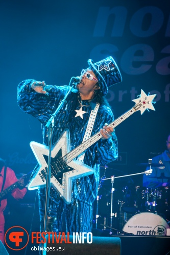 Bootsy Collins and The Funk Unity Band op North Sea Jazz 2014 - dag 1 foto