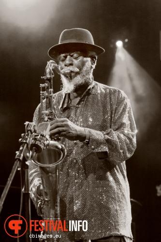 Pharoah Sanders op North Sea Jazz 2014 - dag 1 foto