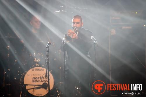 Foto Ibrahim Maalouf op North Sea Jazz 2014 - dag 2