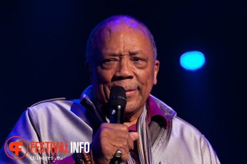 Foto Quincy Jones op North Sea Jazz 2014 - dag 2
