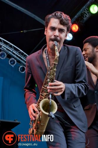 Jon Batiste & Stay Human op North Sea Jazz 2014 - dag 2 foto