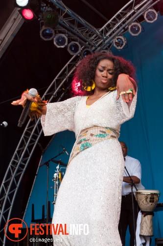 Giovanca op North Sea Jazz 2014 - dag 3 foto