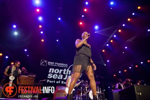 Liv Warfield op North Sea Jazz 2014 - dag 3 foto