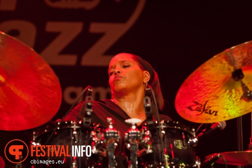 Terri Lyne Carrington op North Sea Jazz 2014 - dag 3 foto
