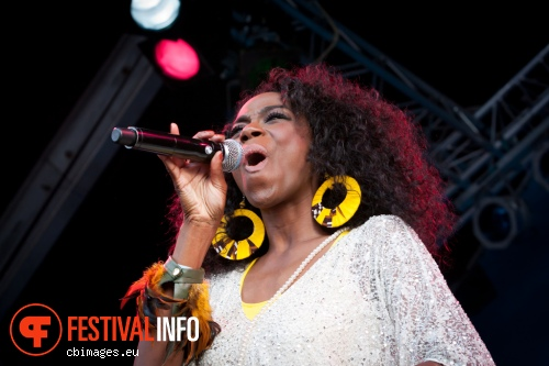 Foto Giovanca op North Sea Jazz 2014 - dag 3