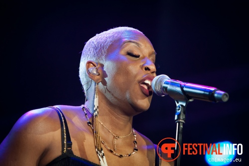 Foto Liv Warfield op North Sea Jazz 2014 - dag 3
