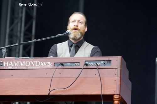 Sven Hammond op Bospop 2014 - dag 1 foto