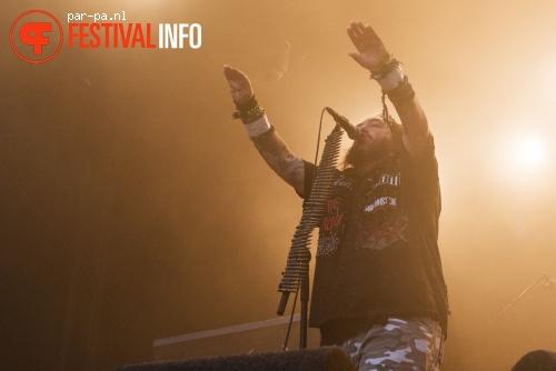 Foto Soulfly op Werfpop 2014