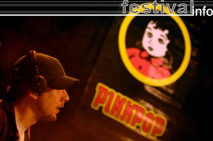 Foto C-Mon & Kypski op Pinkpop persconferentie