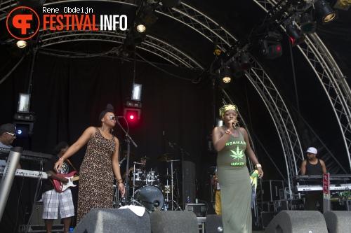 Fiyah Nation ft Ashwin op Zwarte Cross 2014 - Dag 3 foto