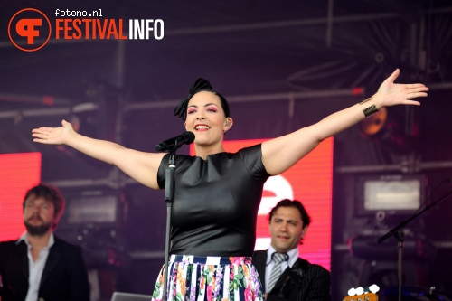 Foto Caro Emerald op Damaris 2014