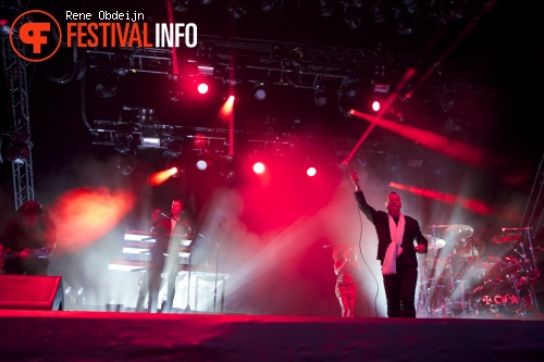 Simple Minds op Suikerrock 2014 foto