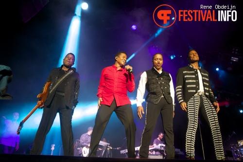 Foto The Jacksons op Suikerrock 2014