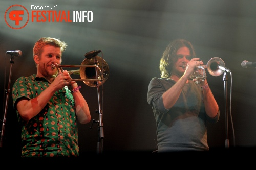 Foto The Cat Empire op Lowlands 2014 - dag 2