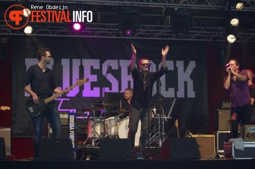 The Dead Revils op Bluesrock Tegelen 2014 foto