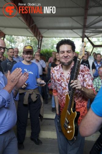Hamilton Loomis op Bluesrock Tegelen 2014 foto