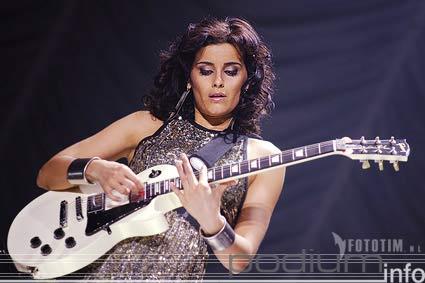 Nelly Furtado op Nelly Furtado - 13/3 - HMH foto