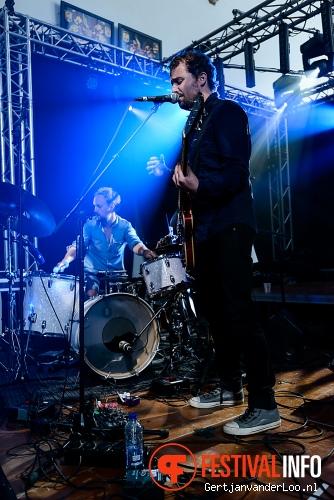 Petter Carlsen & The Lonely Drummer op Nordic Delight 2014 foto